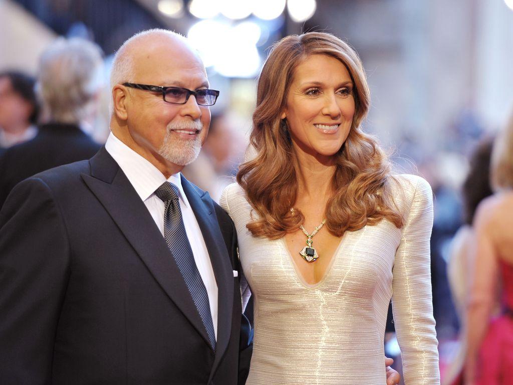René Angélil und Celine Dion