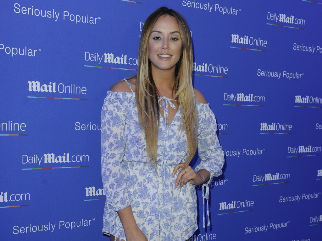 "Charlotte Crosby bei der ""Daily Mail""-Party in Cannes 2016"
