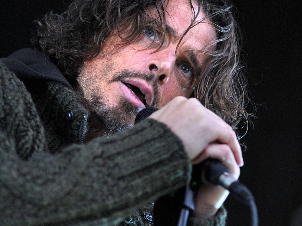 Chris Cornell, Sänger der Bands Soundgarden und Audioslave