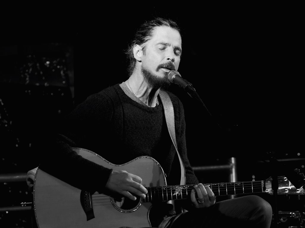 Chris Cornell in Malibu 2017