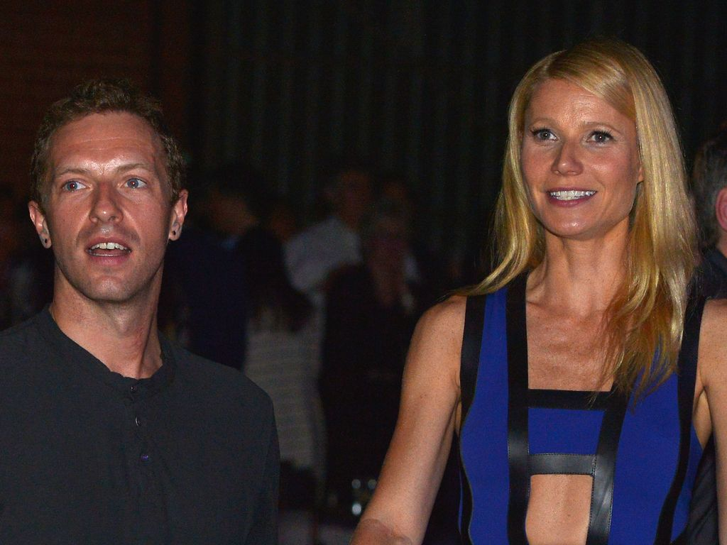 Chris Martin und Gwyneth Paltrow 2014 in Hollywood