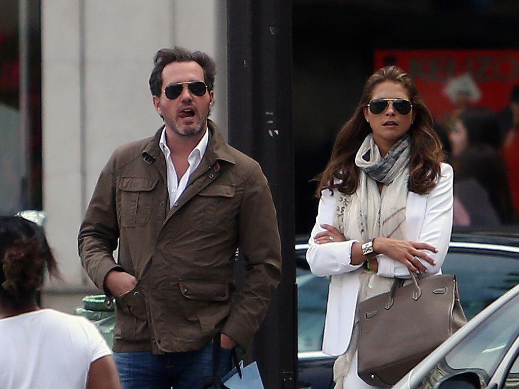 Chris O'Neill und Prinzessin Madeleine von Schweden in Frankreich