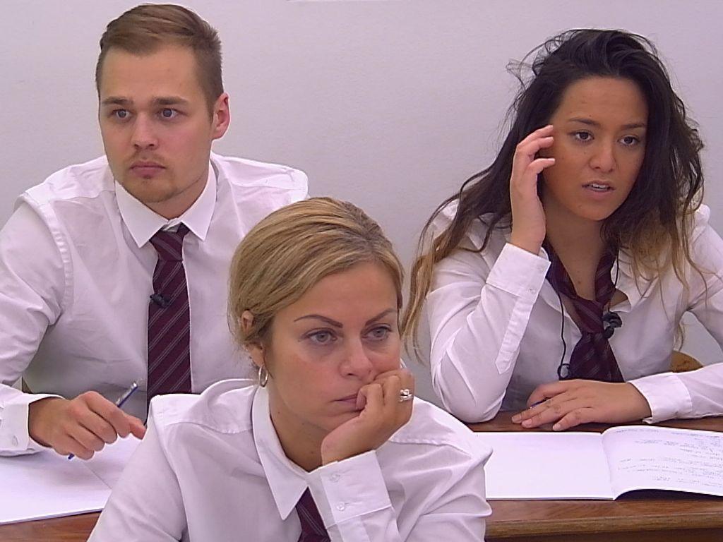Christian, Bianca und Maria