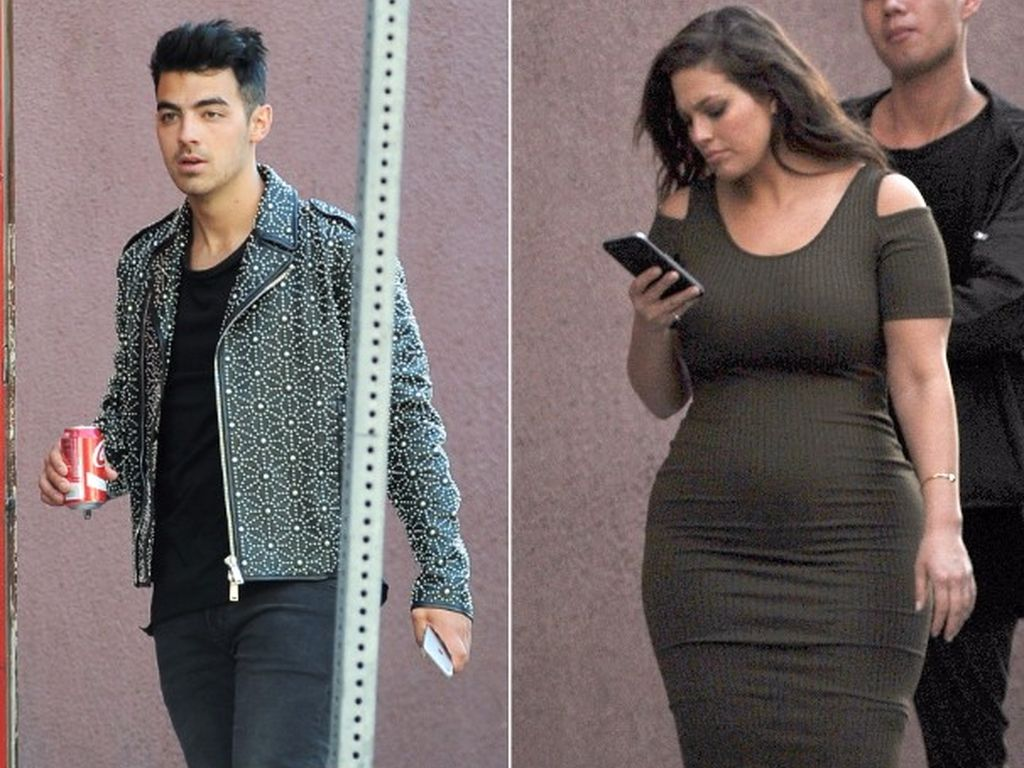 Ashley Graham und Joe Jonas