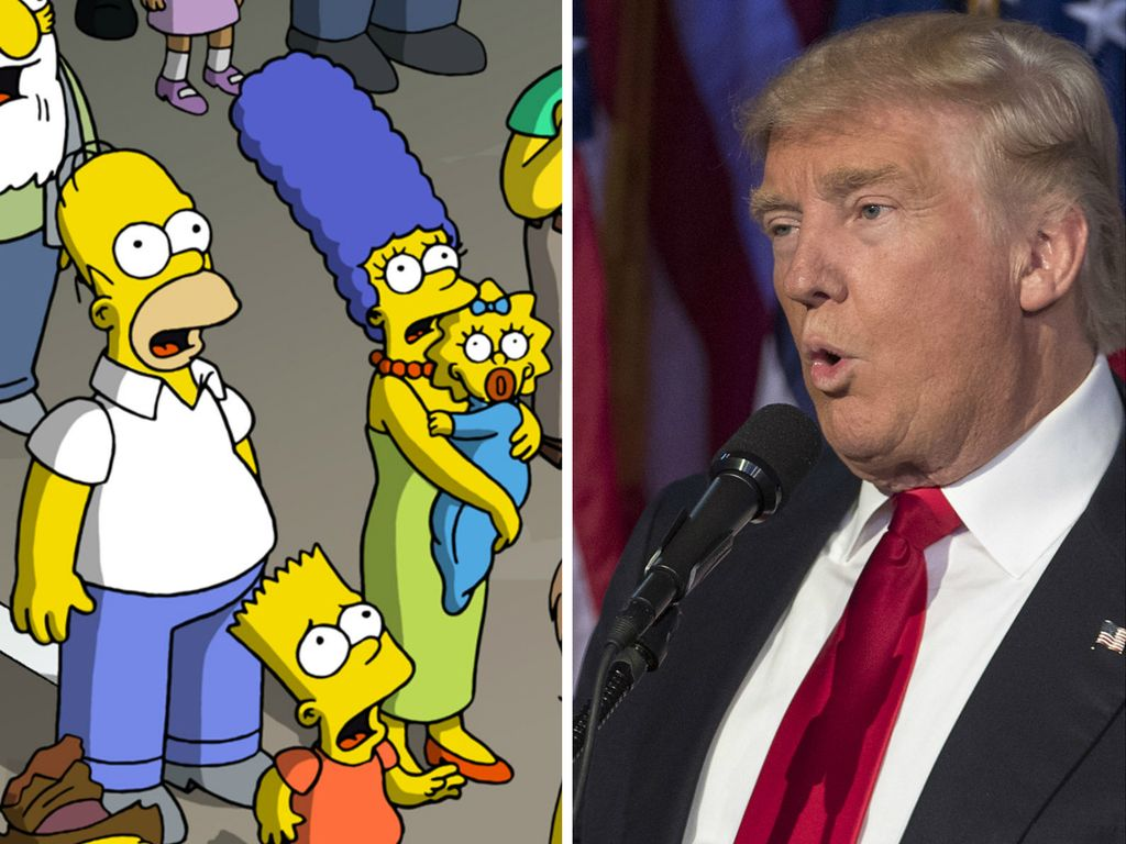 """The Simpsons"" und Donald Trump"