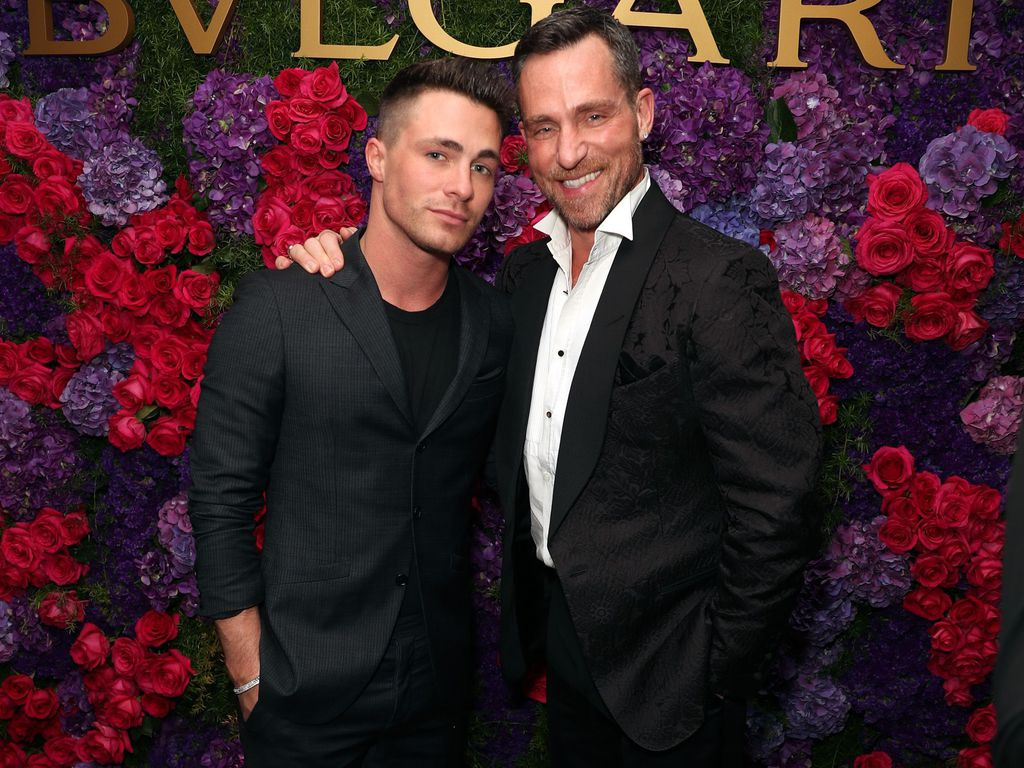 Colton Haynes und Jeff Leatham bei der Bulgari Pre Oscar Party in Los Angeles 2017