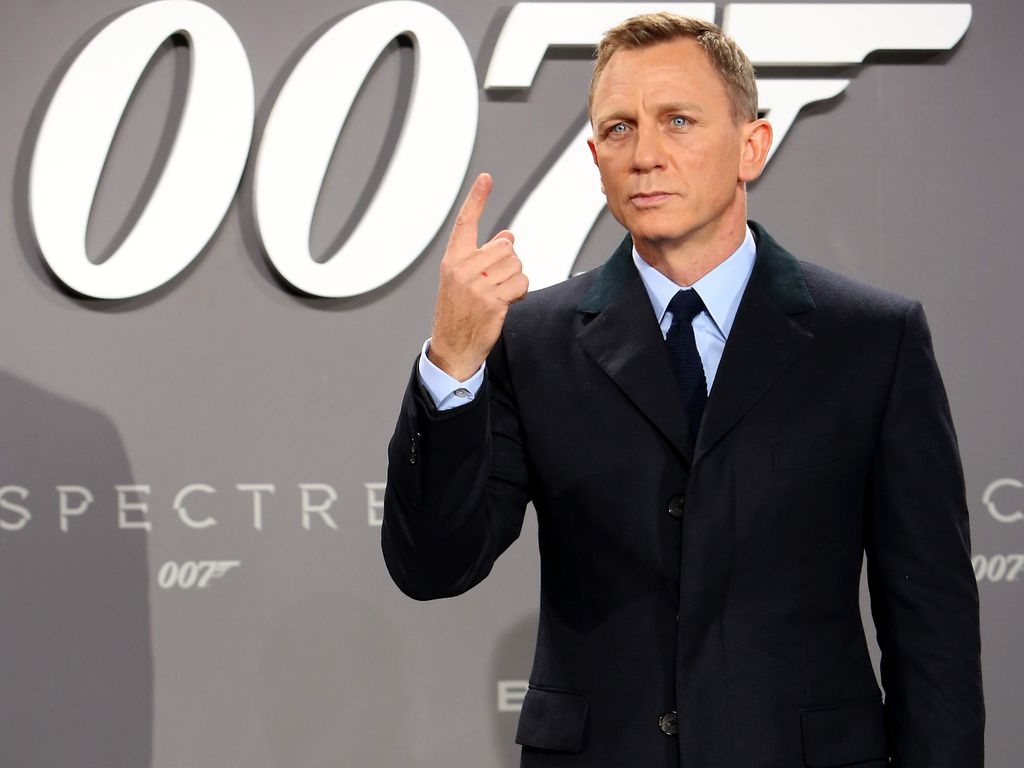 "Daniel Craig, ""James Bond""-Darsteller"
