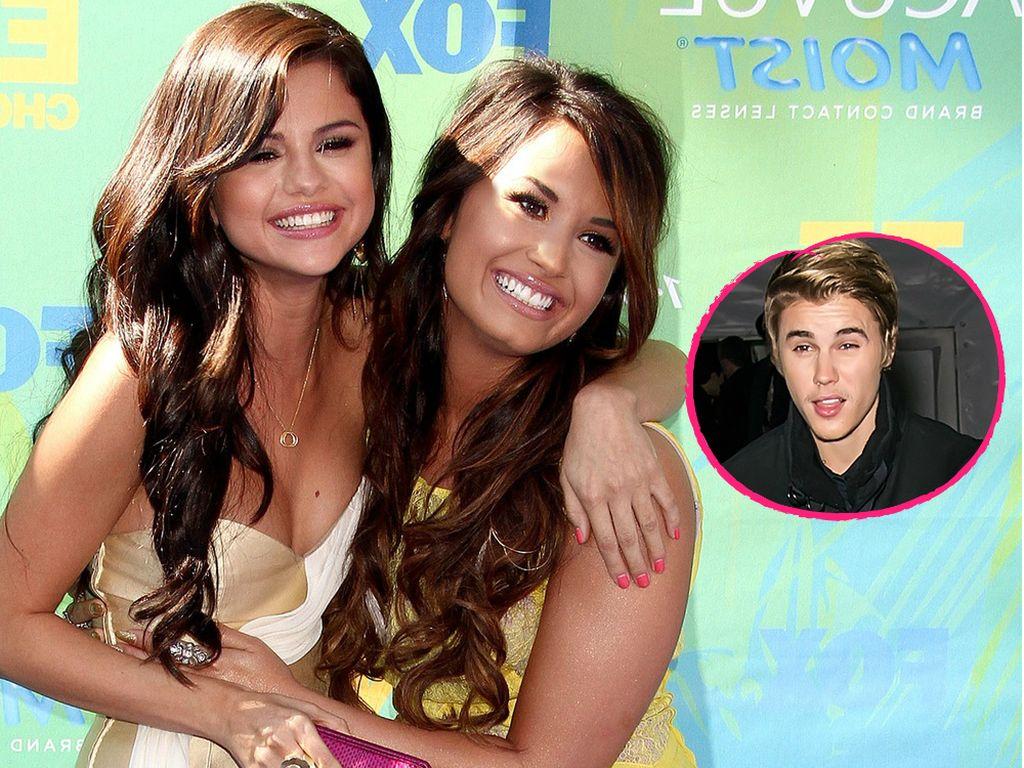 Selena Gomez, Justin Bieber und Demi Lovato