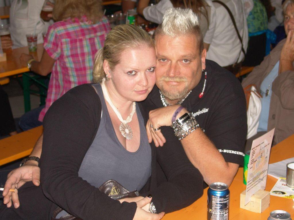 Christian Esser und seine Nicole