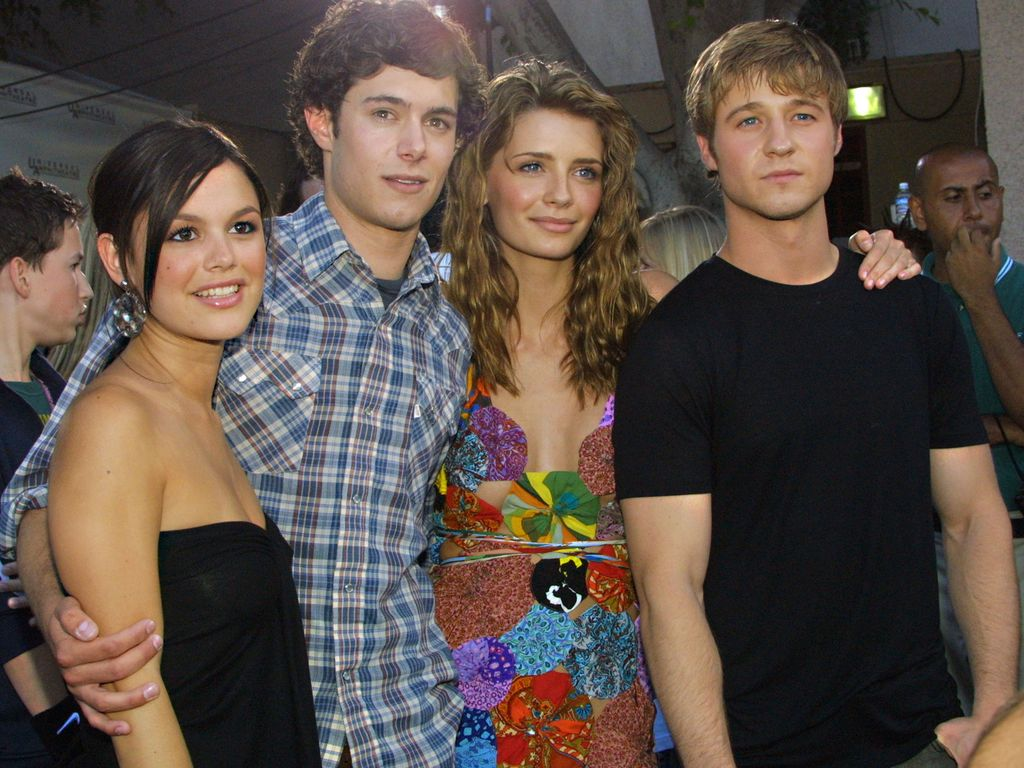 "Rachel Bilson, Adam Brody, Mischa Barton und Benjamin McKenzie, ""O.C. California""-Cast 2003"