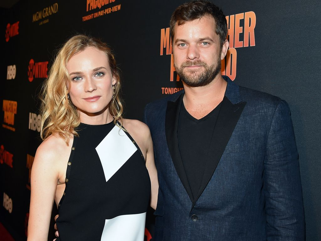 Diana Kruger und Joshua Jackson auf der SHOWTIME & HBO VIP Pre-Fight Party im Mai 2015
