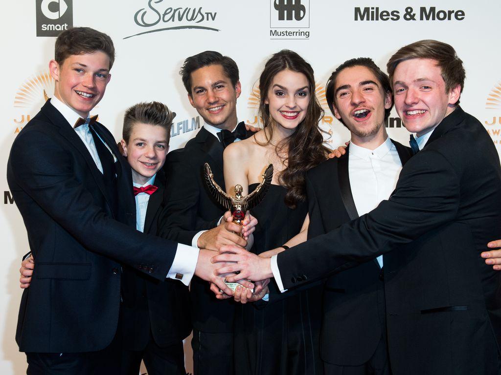 """Die """"Club der roten Bänder""""-Stars beim Jupiter Award"""
