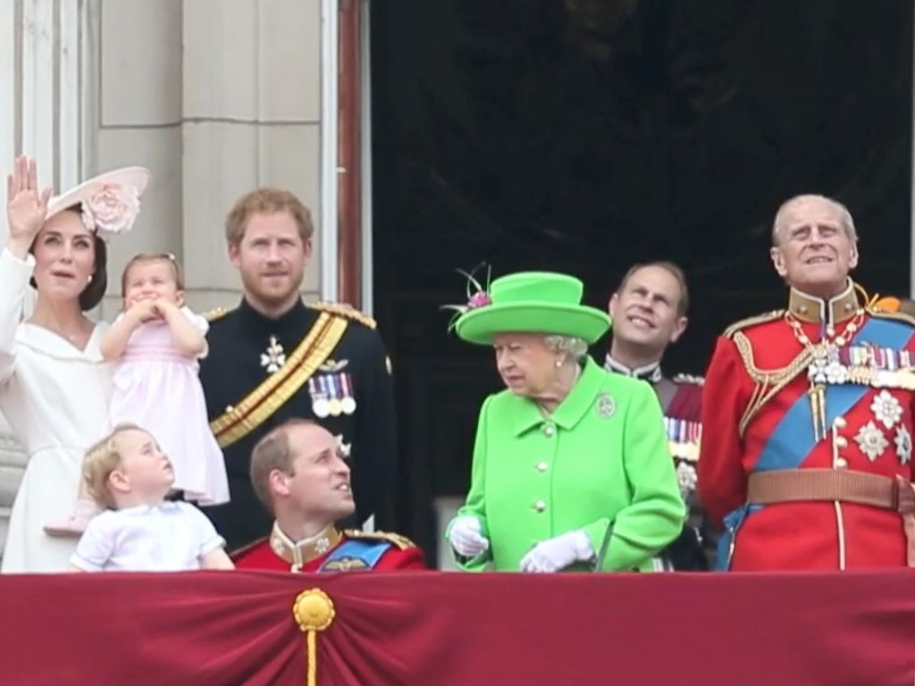 "Die englischen Royals beim ""Trooping Of The Colour 2016"""