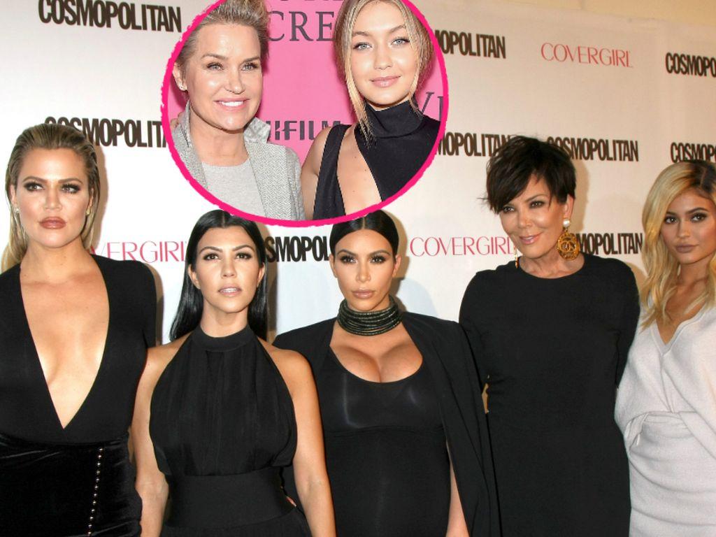 Gigi Hadid, Kim Kardashian, Kourtney Kardashian, Kris Jenner und Yolanda Foster