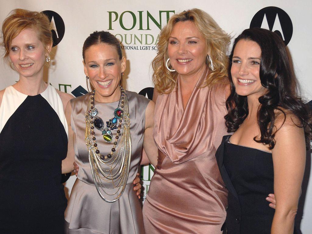 Cynthia Nixon, Sarah Jessica Parker, Kim Cattrall und Kristin Davis (v.l.n.r.)