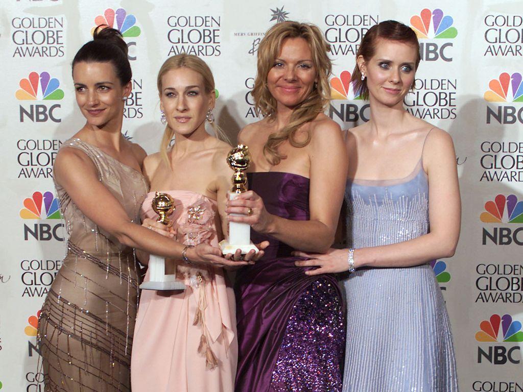 Sarah Jessica Parker, Kim Cattrall, Kristin Davis und Cynthia Nixon 2001