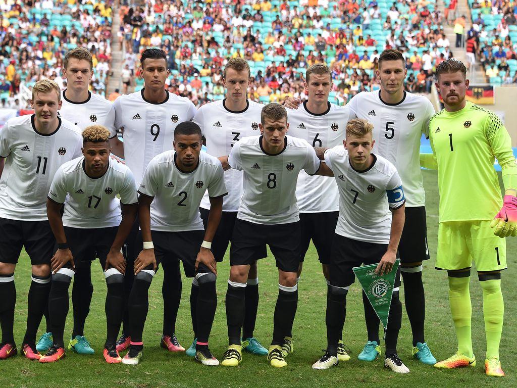Die deutsche Olympia-Mannschaft
