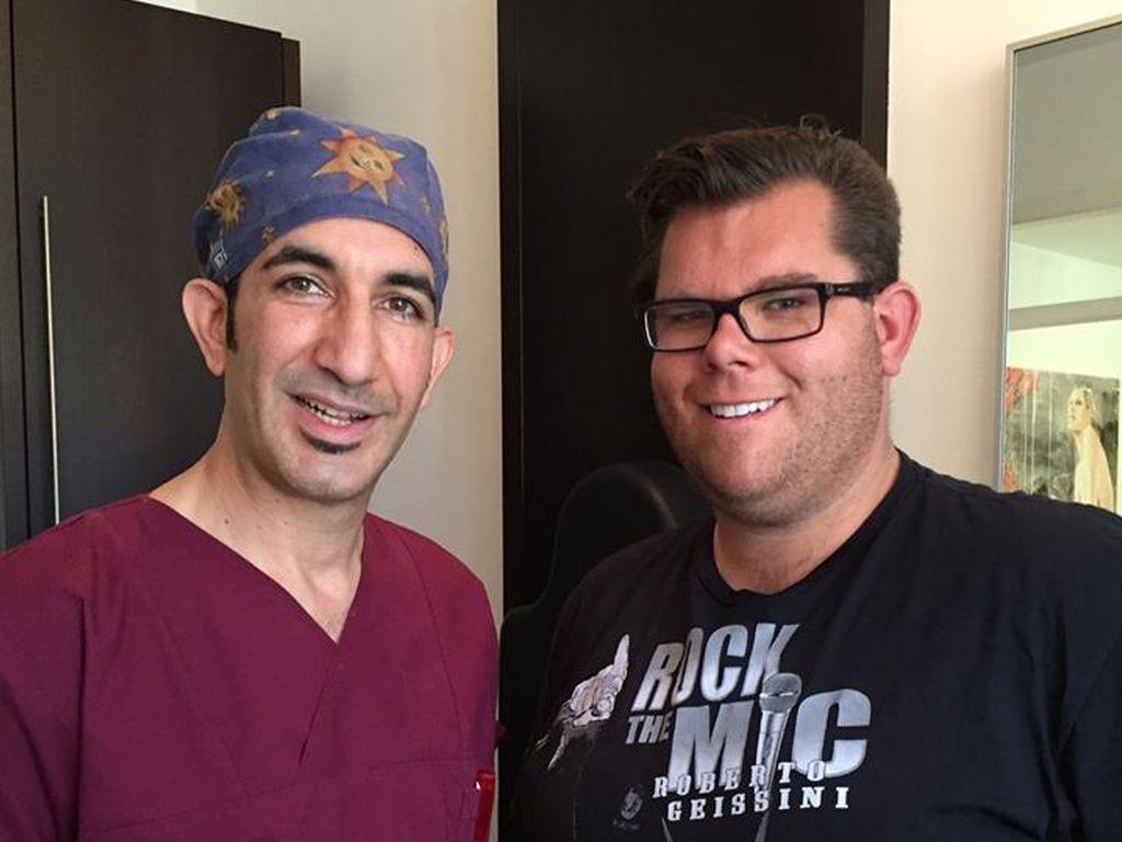 Dr. Afschin Fatemi und Dennis Schick in Düsseldorf