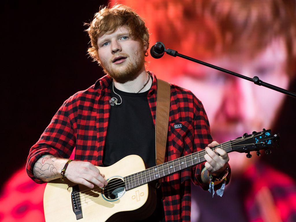 Ed Sheeran bim Glastonbury-Festival in Pilton