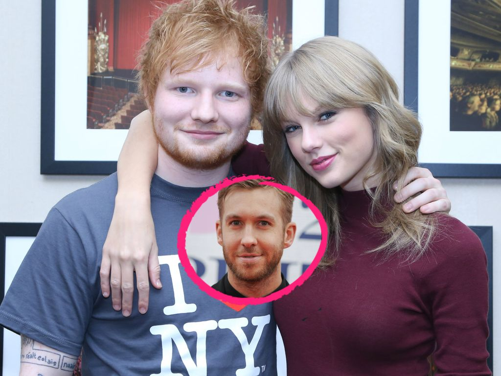 Calvin Harris, Taylor Swift und Ed Sheeran