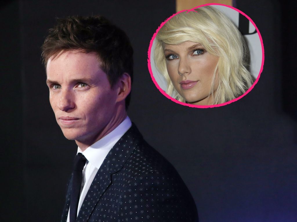 Eddie Redmayne im November 2016 bei einer Filmpremiere in London, Taylor Swift im Mai in New York