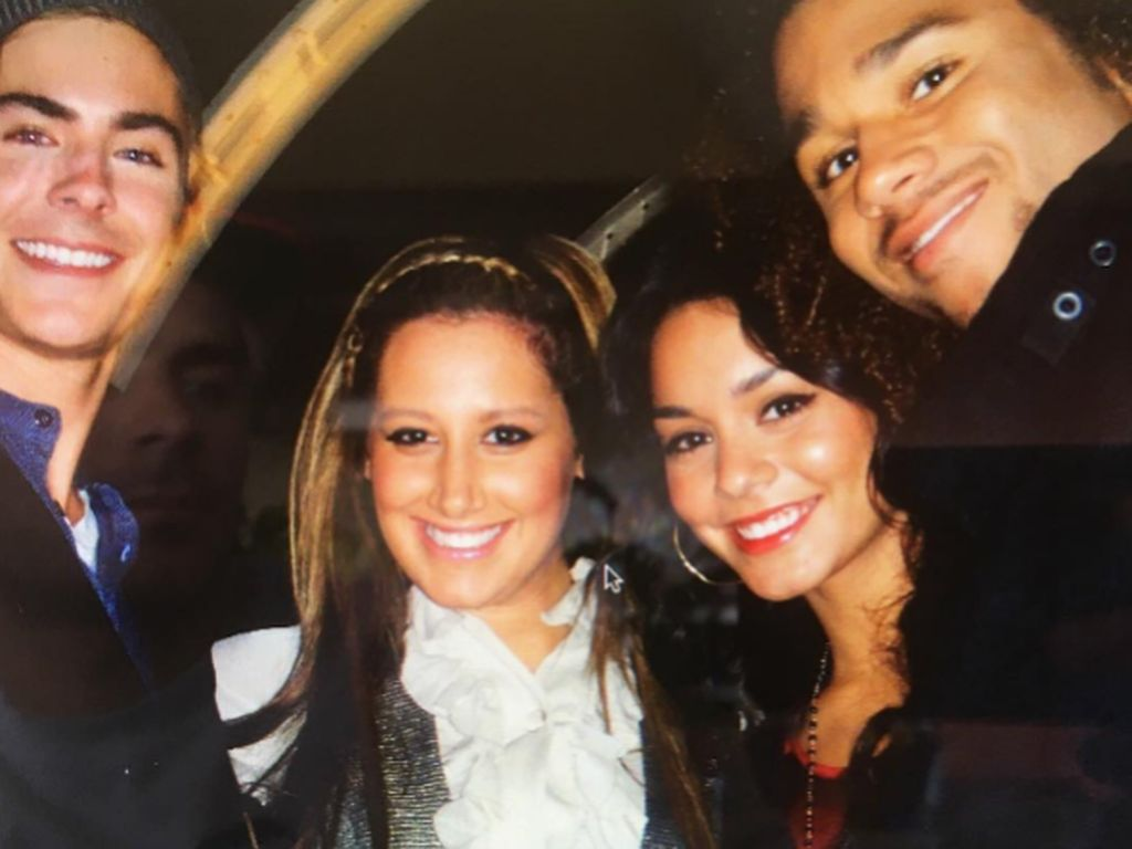 Zac Efron, Vanessa Hudgens, Ashley Tisdale und Corbin Bleu