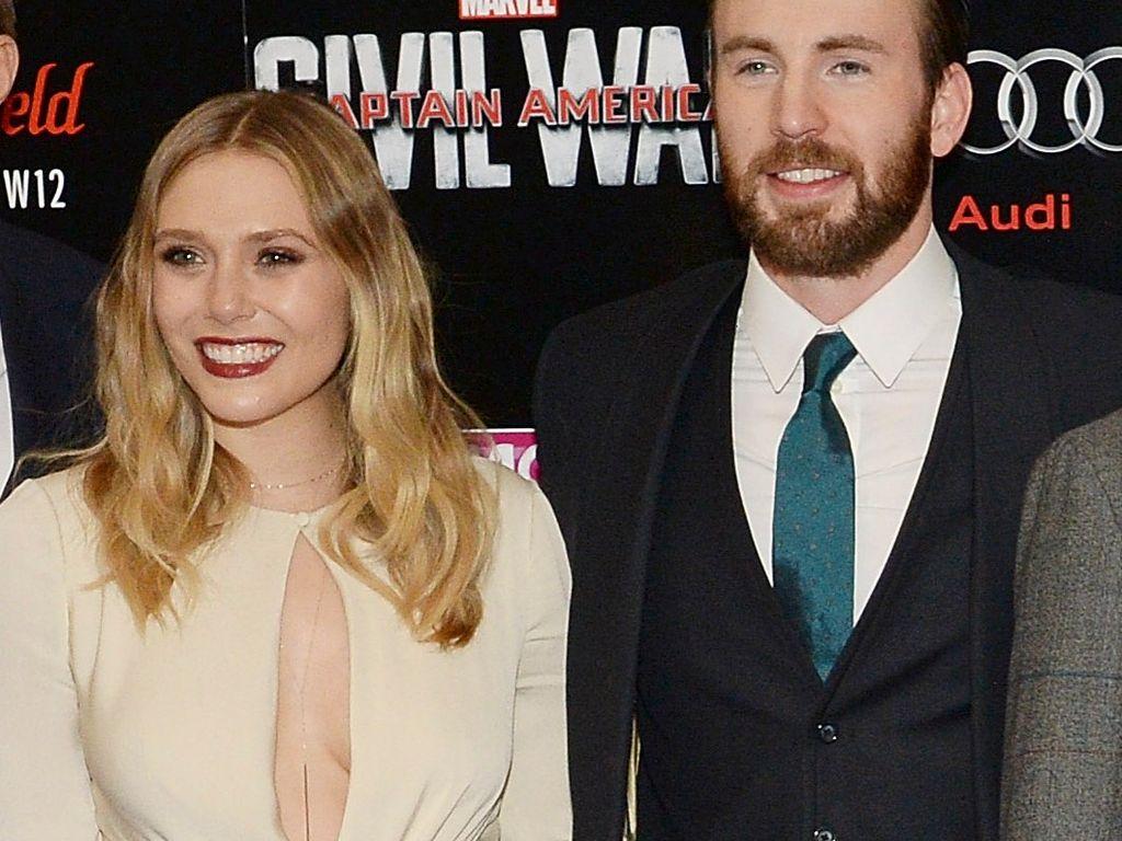 Elizabeth Olsen und Chris Evans