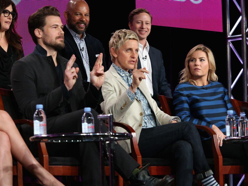 Ellen DeGeneres, Nick Zano und Elisha Cuthbert