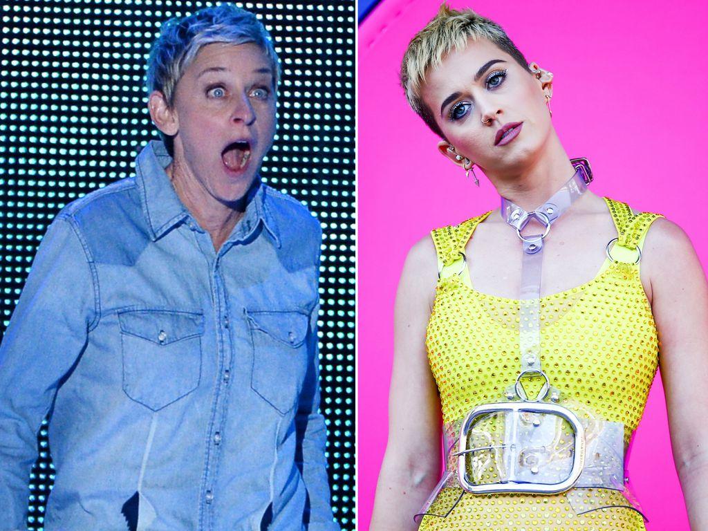 Ellen DeGeneres und Katy Perry