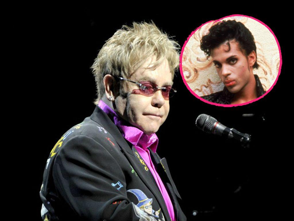 Prince und Elton John