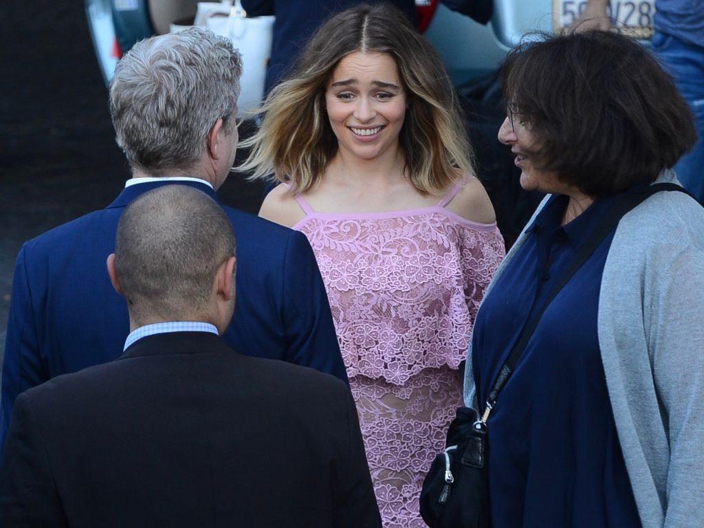 Emilia Clarke bei der BAFTA Tea Party in West Hollywood