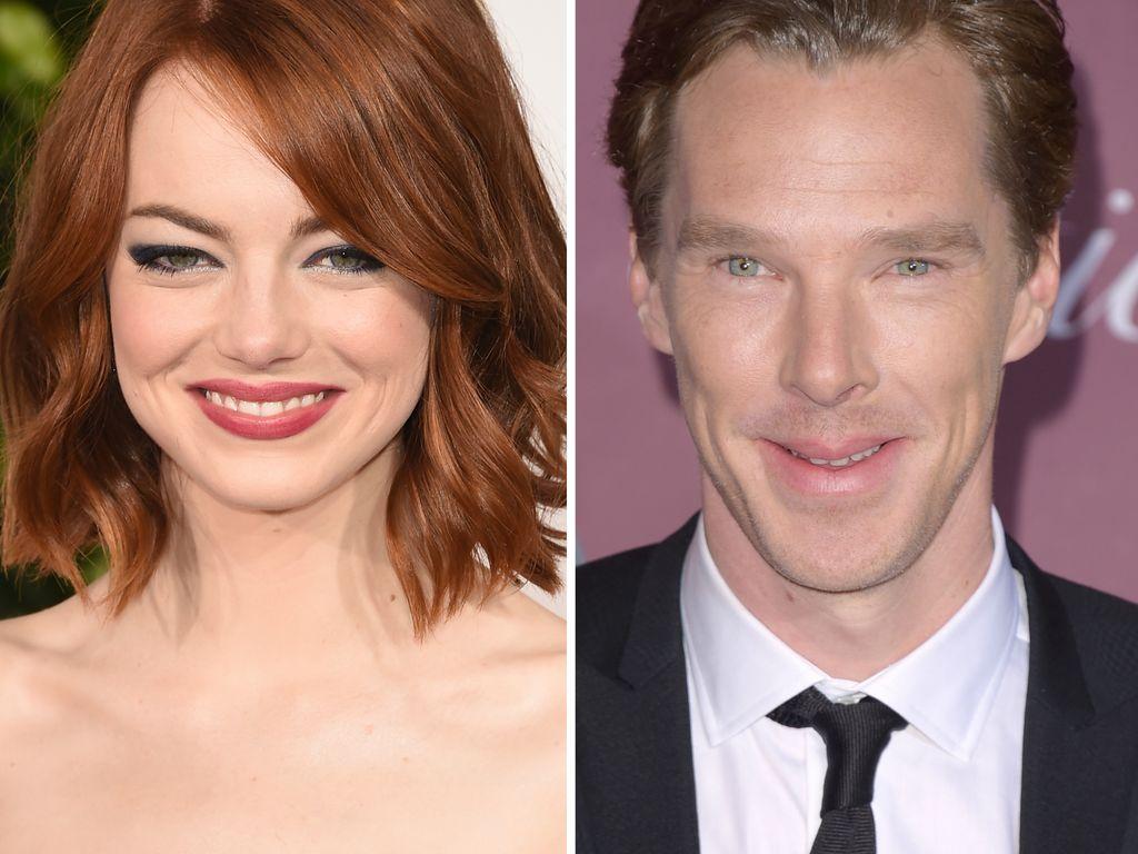 Emma Stone und Benedict Cumberbatch