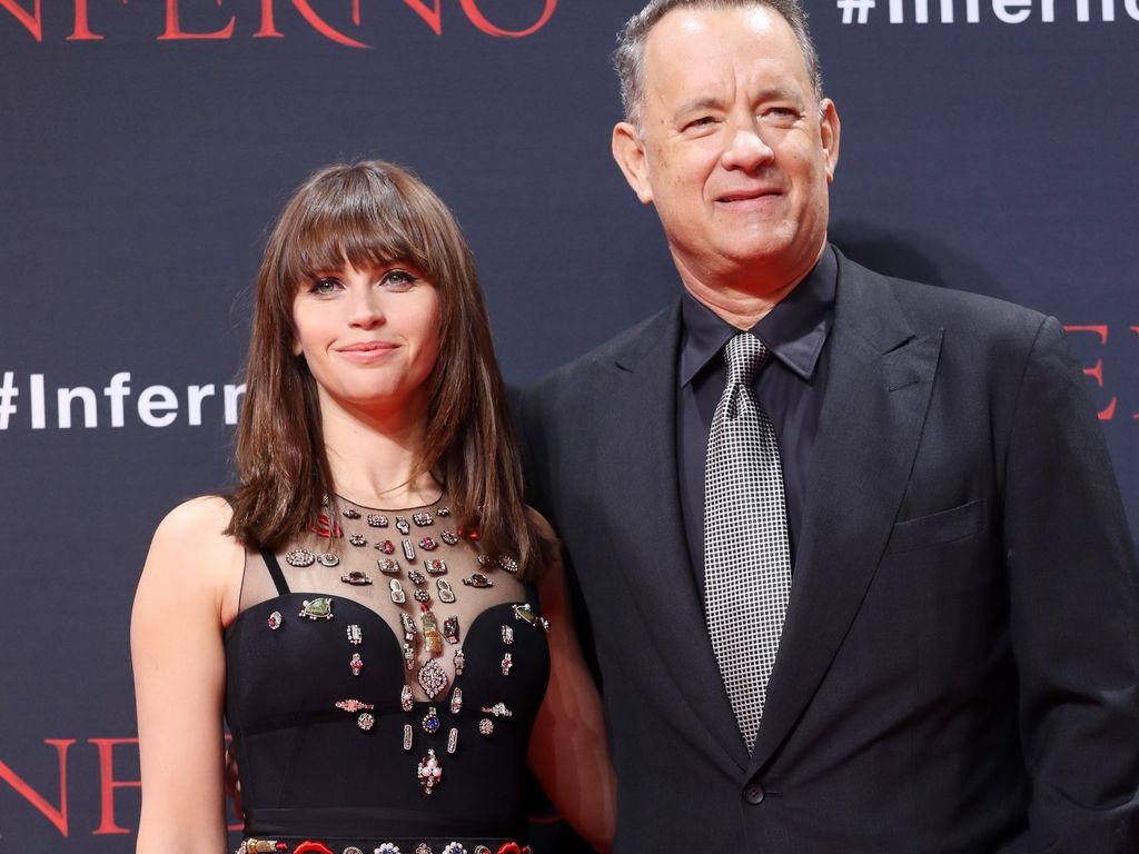 Felicity Jones und Tom Hanks in Berlin