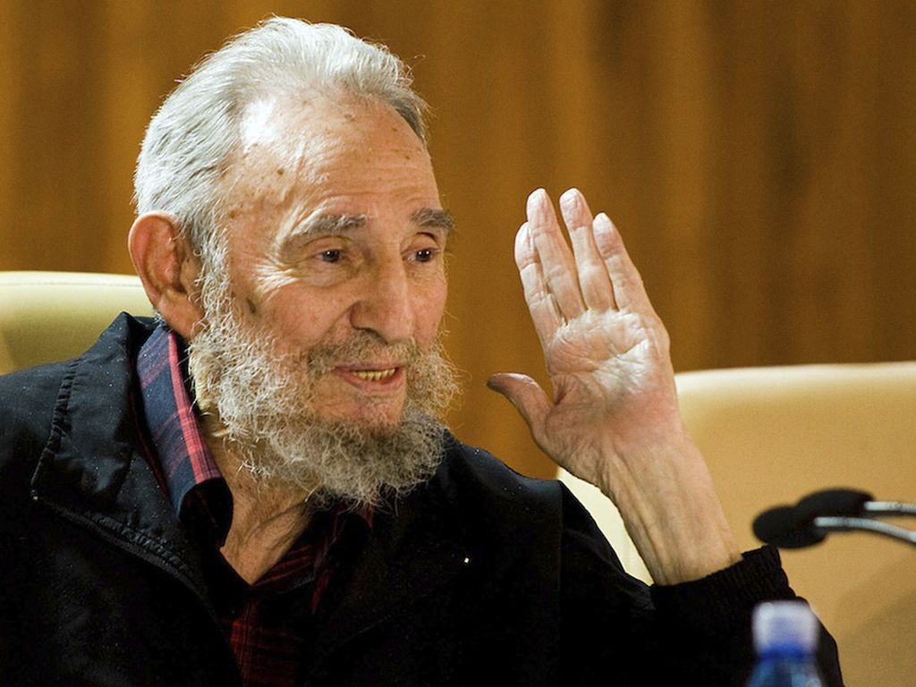 Fidel Castro in Havanna