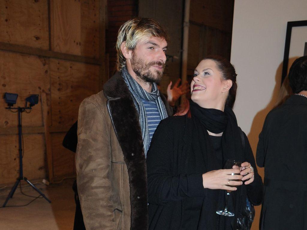 Fifi Geldof mit Andrew Robertson im Jahr 2013