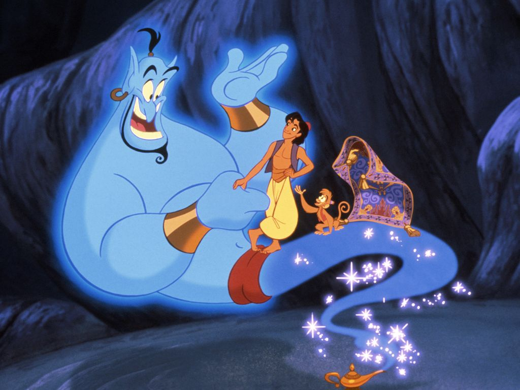 "Filmszene aus ""Aladdin"""