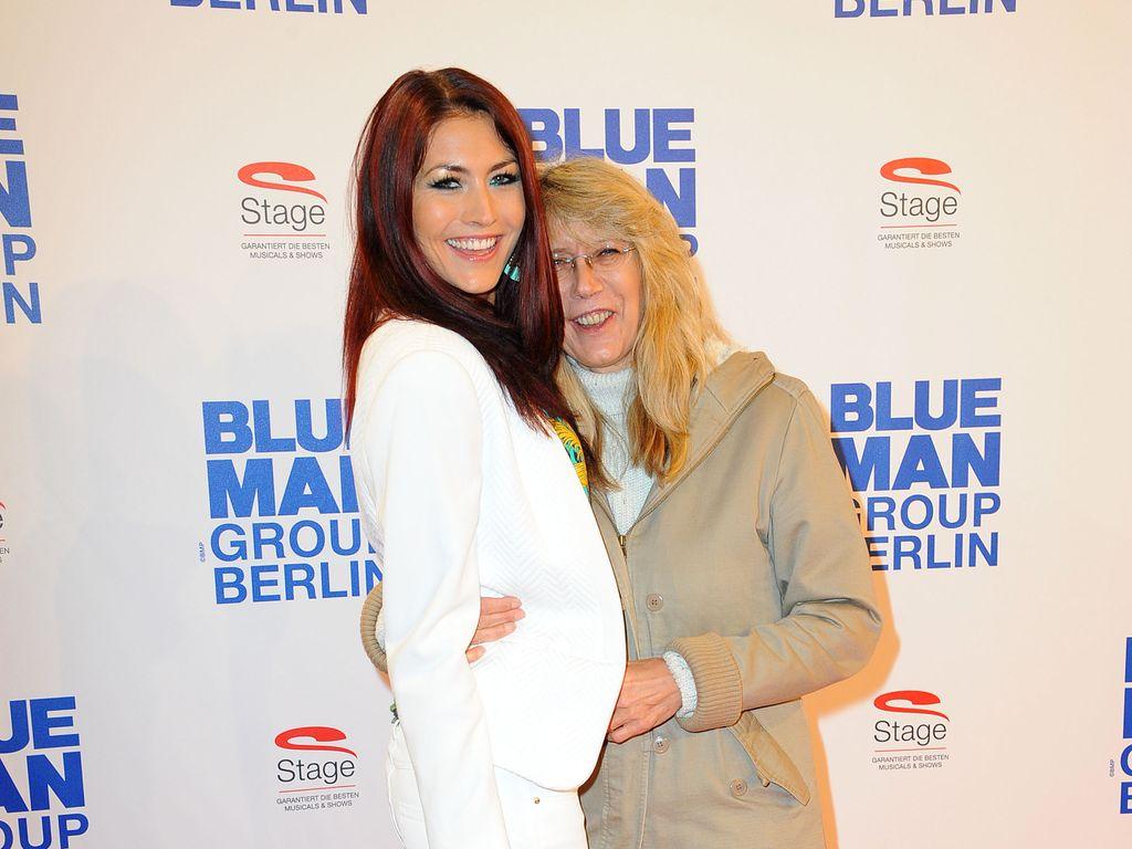 Fiona Erdmann mit ihrer Mama