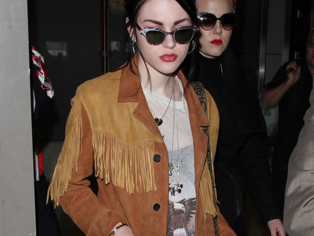 Frances Bean Cobain in Los Angeles