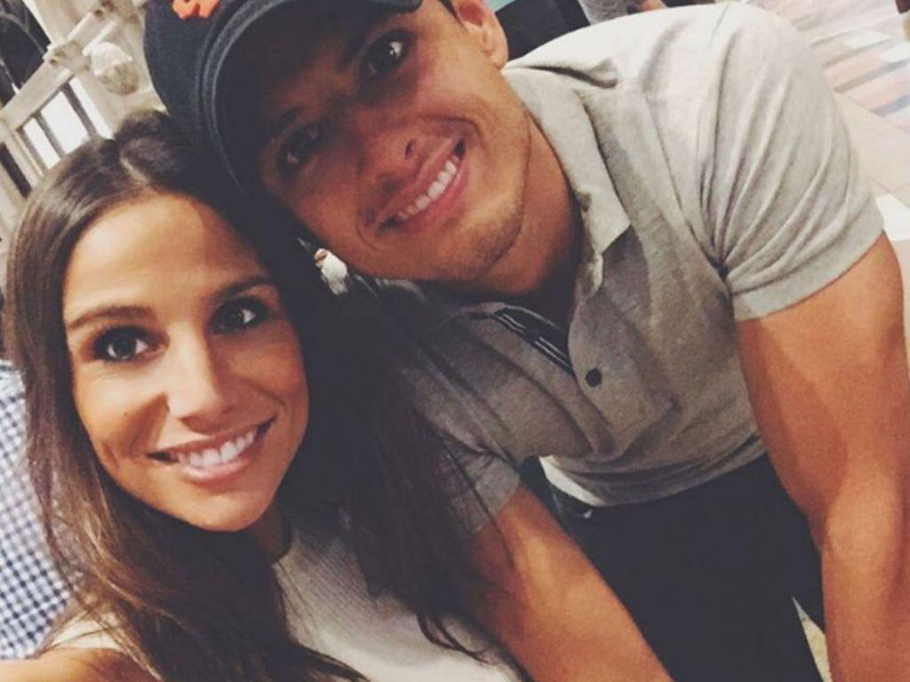 Chicharito und seine Freundin Lucia Villalon