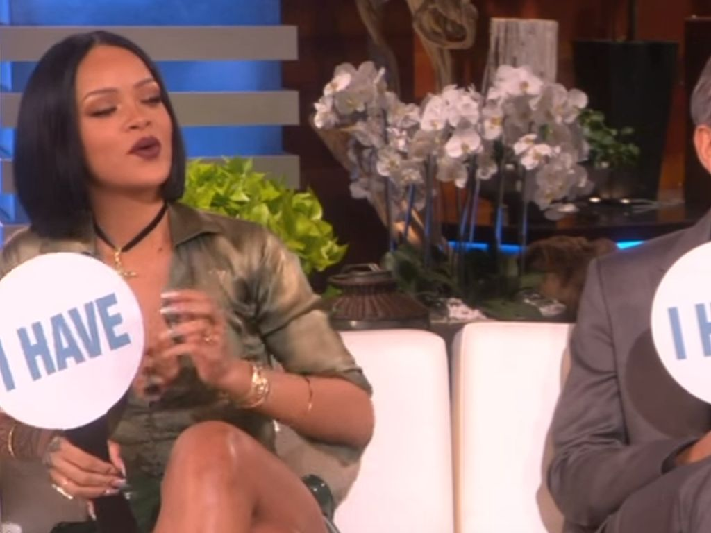 Rihanna und George Clooney