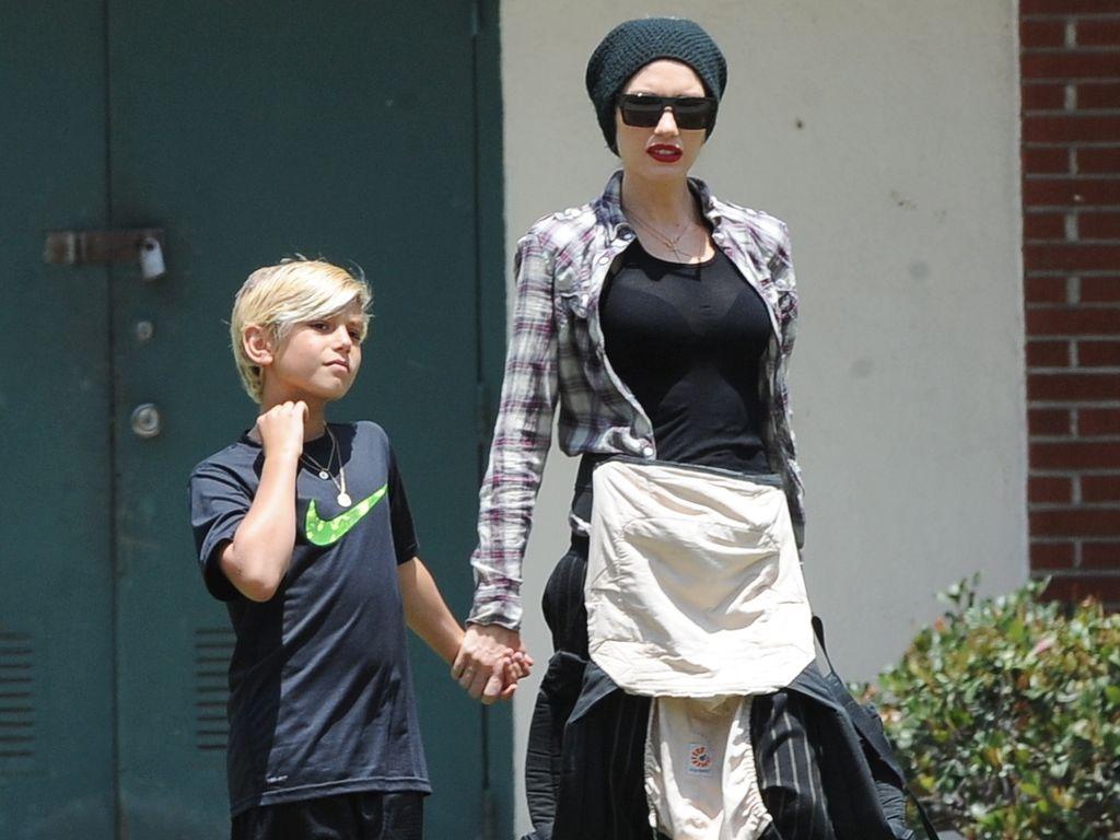 Gwen Stefani und Zuma Rossdale