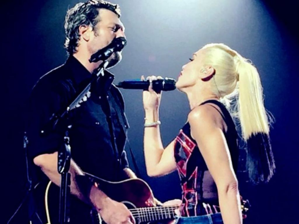 Blake Shelton und Gwen Stefani