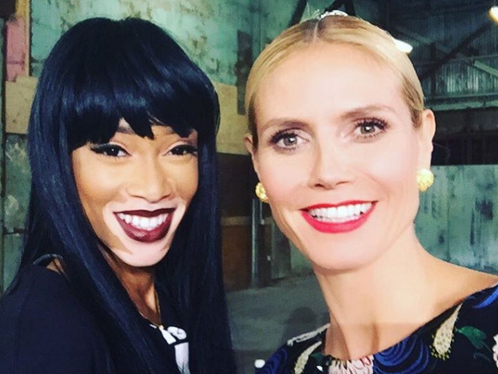 Heidi Klum und Chantelle Brown-Young