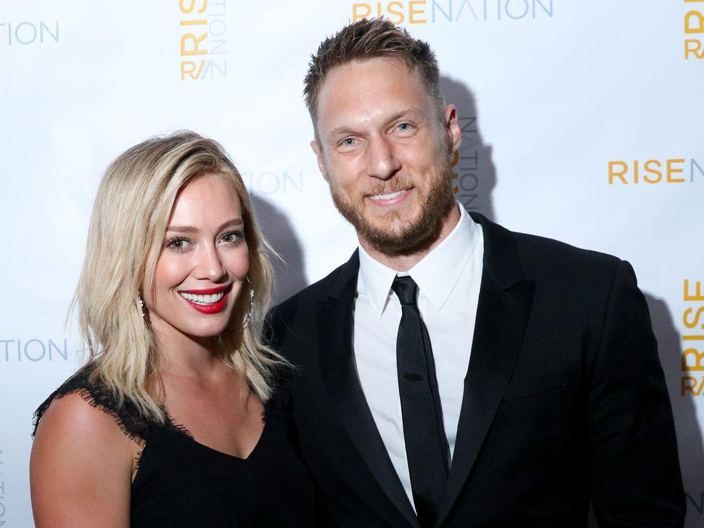 Schauspielerin Hilary Duff und Fitness-Trainer Jason Walsh