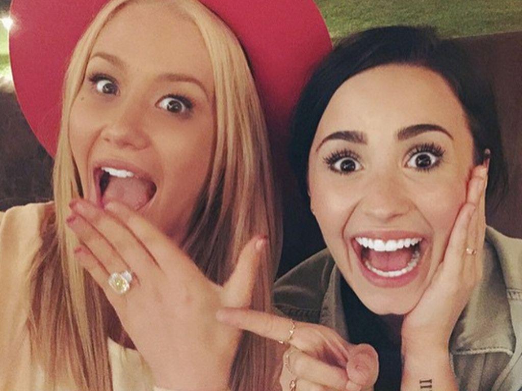 Demi Lovato und Iggy Azalea