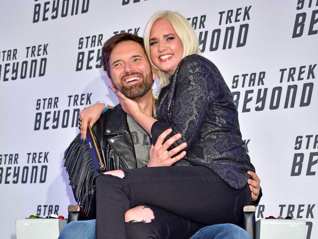 "Ingo Nommsen und Sarah Knappik beim ""Star Trek Beyond""-Screening"