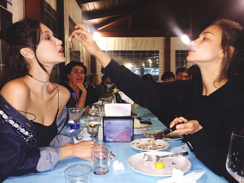 Irina Shayk und Bella Hadid