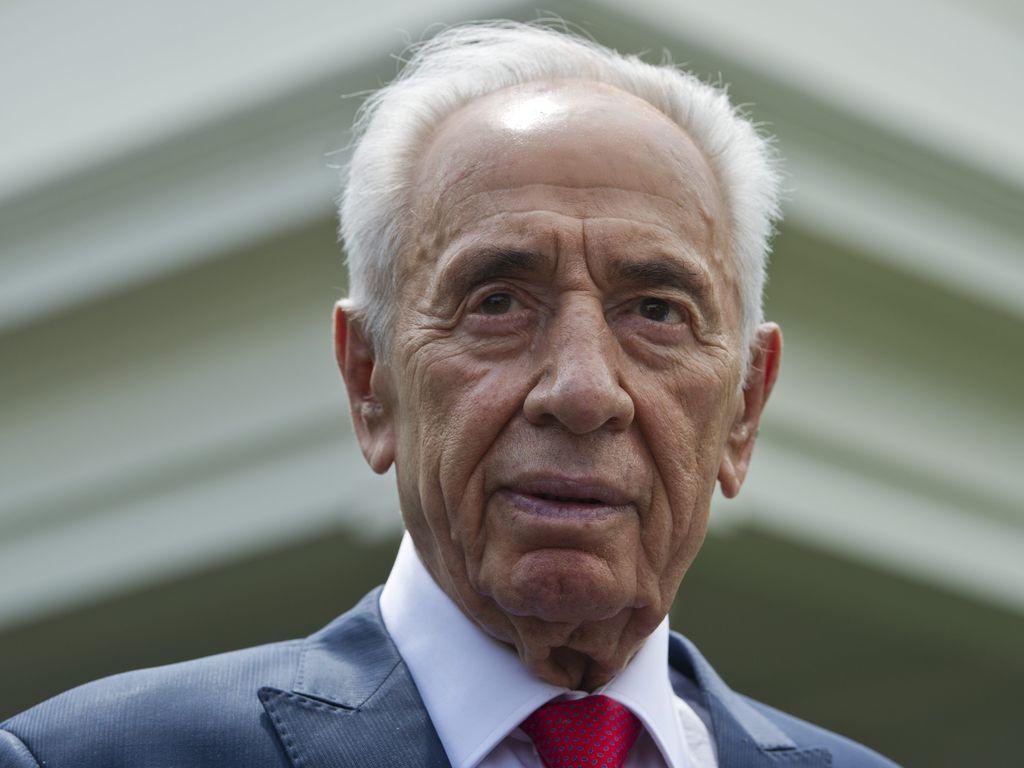 Politiker Shimon Peres