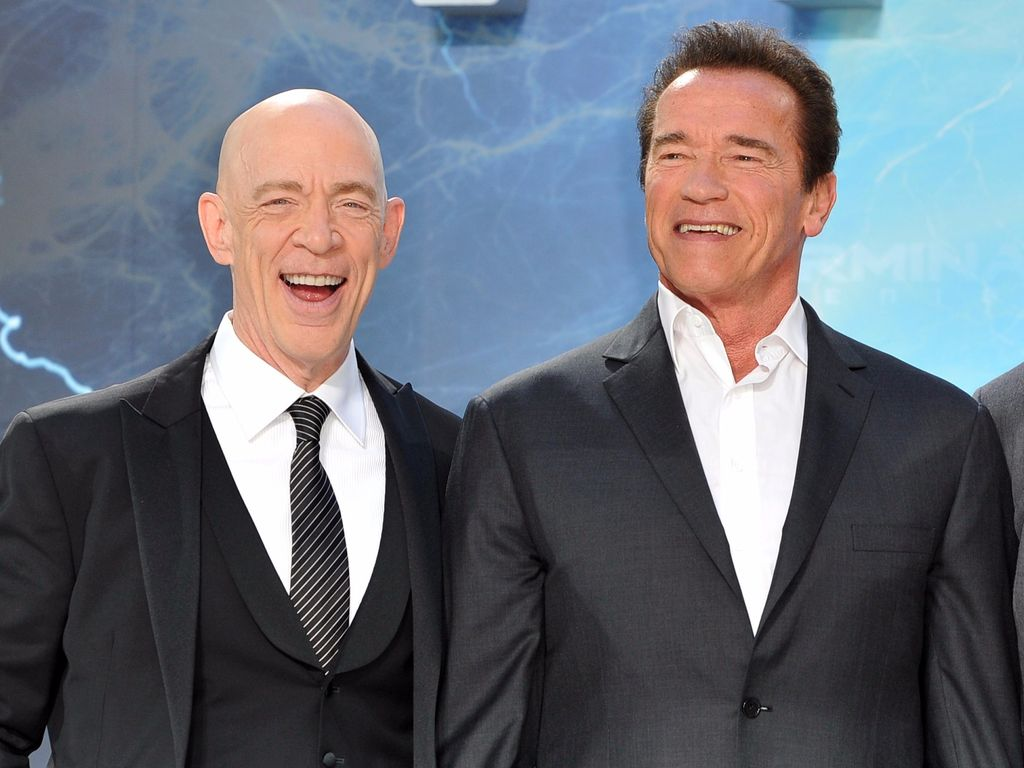 Arnold Schwarzenegger und J.K. Simmons
