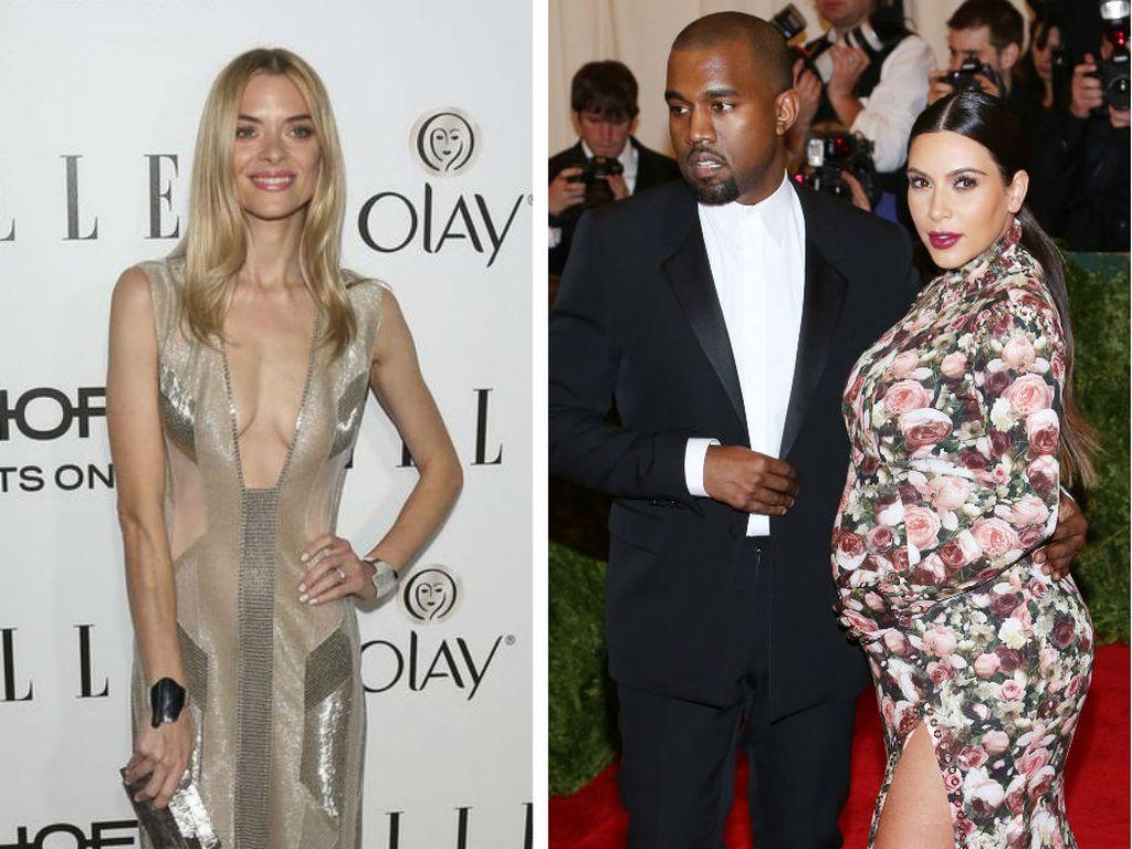 Kim Kardashian, Kanye West und Jaime King